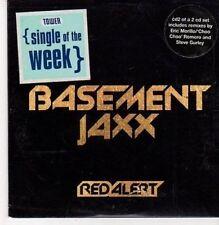 (CG284) Basement Jaxx, Red Alert - 1999 CD