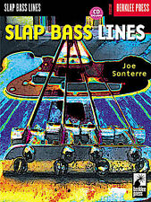 Learn To Play Slap BASS GUITAR Lines Music Book TAB NEW