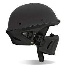 BELL Rogue Half Helmet Harley Chopper Street Bike XL Matte Black