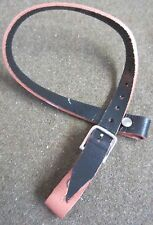 WWII GERMAN M35 M40 M42 HELMET LINER LEATHER CHINSTRAP-