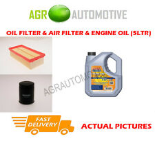 PETROL OIL AIR FILTER KIT + LL 5W30 OIL FOR SMART FORFOUR 1.3 95 BHP 2004-06