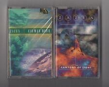 ZAZEN - Lot of 2 SEALED cassettes New Age - Cayman blue & Canyons of light