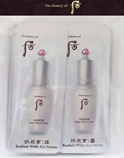 The History of Whoo Seol Radiant White Eye Serum 30pcs Latest Version LG Gift