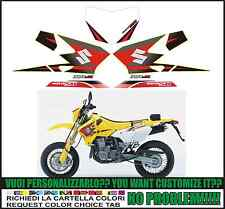 kit adesivi stickers compatibili drz 400 sm 2005