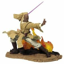 "Star Wars Unleashed 6"" Scale MACE WINDU figure statue toy complete with base"