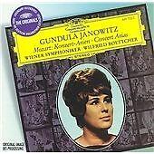 CD ALBUM - Mozart: Konzert-Arien - GUNDULA JANOWITZ