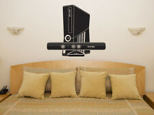 Xbox 360 Console Kinect Game Children's Bedroom Decal Wall Art Sticker Picture