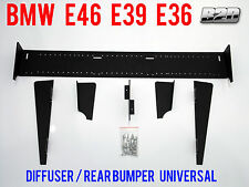 BMW E46 E39 E36 Diffuser rear bumper spoiler UNIVERSAL