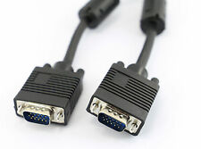 2m Negro VGA SVGA Monitor para PC Cable Macho - macho pc portátil para TV A2003
