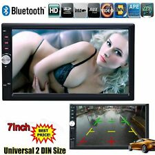 "2 Din Auto In Dash 7"" Car Head Unit Radio Stereo MP3 MP5 Bluetooth Touch Screen"