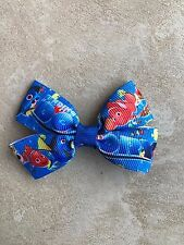 Finding Dory Bow with Alligator Clip