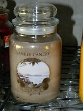 Yankee Candle 22 oz Large Jar Candle  New ---  Beach Escape
