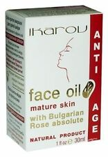 IKAROV Anti-Age FACE OIL - Bulgarian Rose Extract - Mature &Very Dry Skin - 30ml
