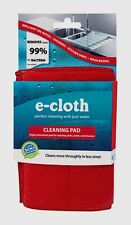 """New! E-Cloth Cleaning Pad Polyester/Polyamide Cleaning Cloth 6.5"""" W x 9"""" L 10627"""