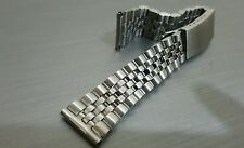 20mm Stainless Steel jubilee gents mens strap bracelet for seiko gents watch