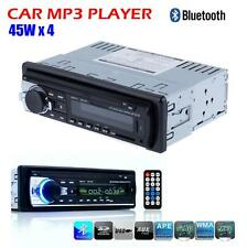 Car Audio Stereo USB SD Input Aux In Dash FM Receiver Bluetooth With MP3 Pl