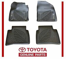 Genuine Toyota Prius 2016 Factory All Weather Rubber Floor Mats Liners  OE OEM