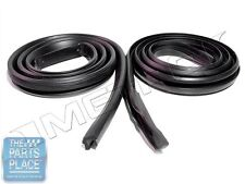 1964-66 Plymouth Barracuda Roofrail Weatherstrip Seal Pair - RR4006A
