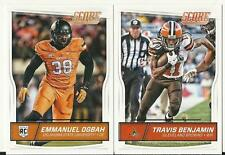 2016 Panini Score Football Cleveland Browns Team Set 15 Cards W/Rookies