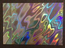 20 SHEETS - HAZEN (MOON) LAVA RAINBOW  HOLOGRAPHIC A4 CARD 300GSM ** SECONDS **