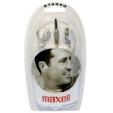 Maxell EB-98 Estéreo Protectores Oídos Auriculares Internos Blanco
