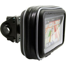 "Bike Motorcycle handlebar Mount Case for TOMTOM VIA START GO Garmin Nuvi 5"" GPS"