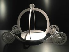 Candy Cart Carriage, New, 130cm x 80cm x 50cm. 10mm White Plastic