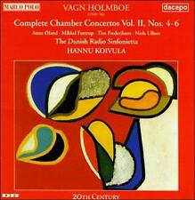 Vagn Holmboe: Complete Chamber Concertos Vol. II, Nos. 4-6, , , New