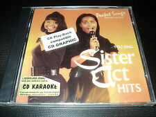 """CD NEUF """"KARAOKE : YOU SING SISTER ACT HITS"""""""
