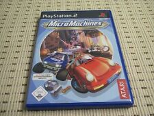 Micro Machines für Playstation 2 PS2 PS 2 *OVP*