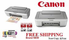 Canon MG2920 Inkjet All-in-One Printer WIRELESS Print Scan + Canon *GENUINE* ink