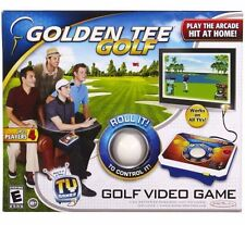 Golden Tee Golf Plug & Play TV Video Game Arcade Golfing Fun 9 or 18 Holes