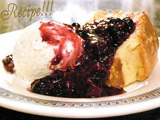 ☆Easy!☆Never Fail Pound Cake w/Warm Berry Compote Recipe☆OR Use U'r Fav Topping☆