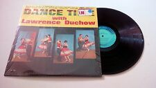 Dance Time With Lawrence Duchow Polka LP Orig Mono Press in Shrink CAL 839