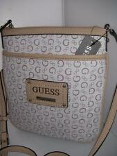 NEW GUESS LADIES MINI CROSS BODY PROPOSAL BAG WHITE COLOR