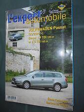 Volkswagen PASSAT de 03/2005  diesel : revue technique rta EA 465