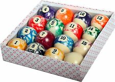 "Brand New Empire USA Billiard Marble Ball Set Standard Size 2-1/4"" Free Ship"