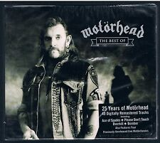 25 YEARS  MOTORHEAD THE BEST OF CD F.C.  SIGILLATO!!!