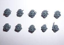 Warhammer 40K Adeptus Mechanicus Skitarii Heads A x 10 - G360