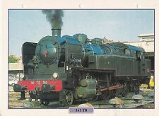 TRAINS DE LEGENDE - LOCOMOTIVE 141 TD FRANCE 1931 FICHE / FEUILLE DE COLLECTION
