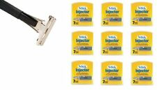 Shave Classic Single Edge Razor Handle with Schick Injector Refill Blades 63 Ct.