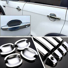 Non-Rusty Chrome Door Handle Bowl Cover Cup Overlay Trim For Chevrolet Captiva