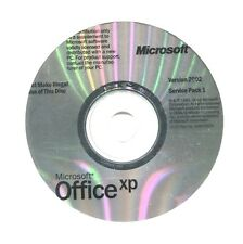 Genuine Microsoft Office Xp 2002 Service Pack 1 NEW