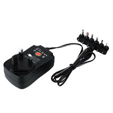 100-240V 3V4.5V6V7.5V9V12V Power Supply Adapter Charger Transformer UK Plug