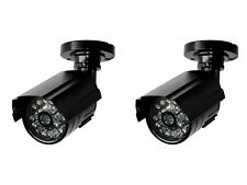 Dummy Security Cameras with Night / Day Switch - Compact & Modern Design
