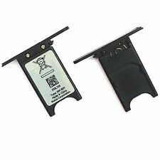 100% Genuine Nokia Lumia 800 SIM card slot tray holder slide cover door black