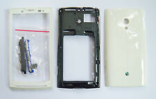 White Housing cover Case fascias facia faceplate For Sony Ericsson X10 Xperia