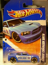 Hot Wheels Dodge Charger SRT8 Police HW City Works Blue