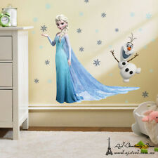 DISNEY FROZEN Elsa And Olaf wall Stickers Decal Removable Art Decor Home Kids