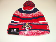 Florida Panthers Cap Hat NHL Hockey New Era Beanie Toque OSFM NE 14 Sport Pom